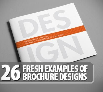 Best  Examples Of Brochures Ideas On   Example Of