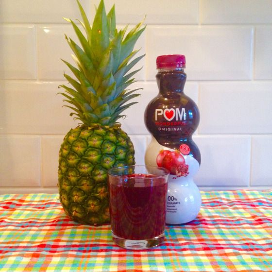 Do Pineapple and Pomegranate help implantation?