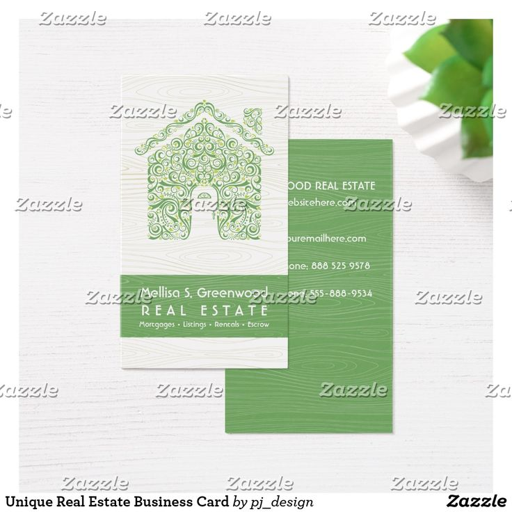273 best stylish business cards mommy cards images on for Unique real estate business cards