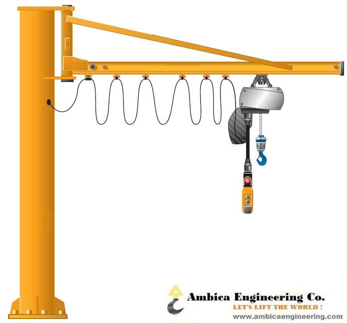 Jib cranes are massive hoisting equipments that are used in numerous large scale industries that handle quite heavy materials. Ambica Engineering is a leading name in #jib #crane #suppliers in #India that can provide superior quality models based on specific requirements. https://www.apsense.com/article/three-types-of-heavy-duty-cranes.html