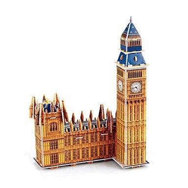 DIY 3D Puzzle - London Big Ben - Adults And Children. Only at www.pandadeals.co.uk