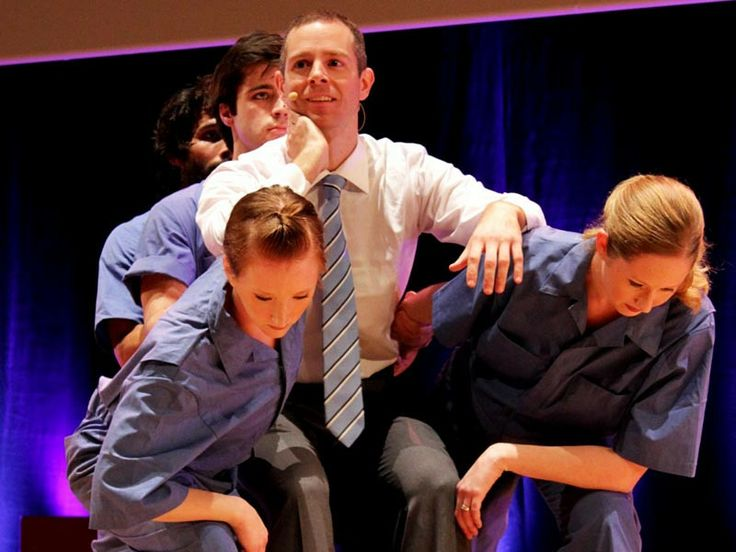Dance vs. powerpoint, a modest proposal