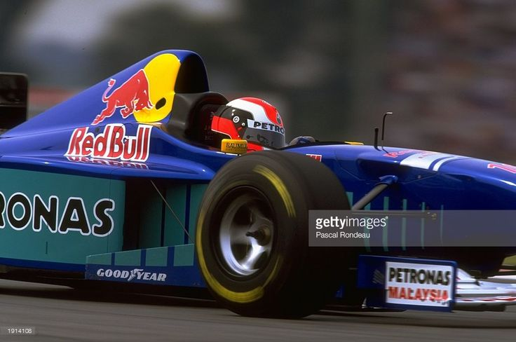 Johnny Herbert of Great Britain driving his Sauber-Petronas during the Argentinian Grand Prix at Buenos Aires, Argentina. \ Mandatory Credit: Pascal Rondeau /Allsport