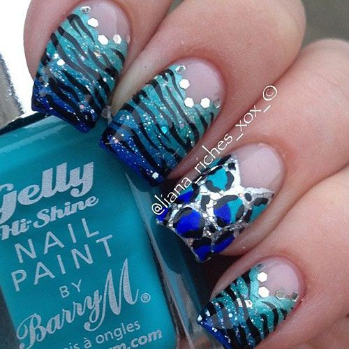 50 Nail Art Designs For Beginners & Learners 2013/ 2014 | Fabulous Nail Art Designs