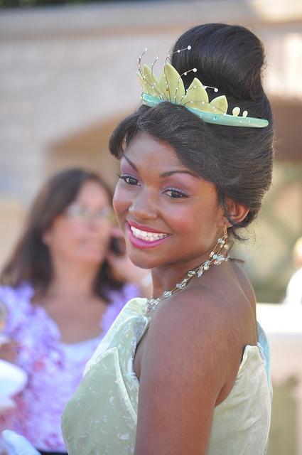 Real-life Princess Tiana <3                                                                                                                                                                                 More