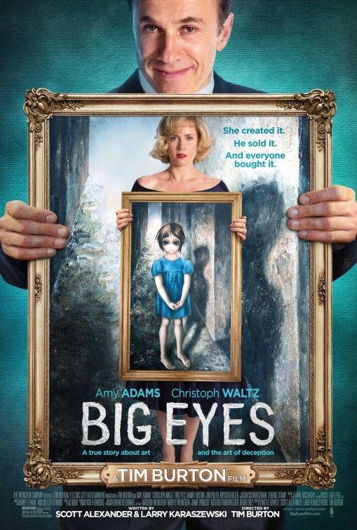 """3 nominations aux Golden Globes 2015 pour Big Eyes : Meilleur acteur dans une comédie/comédie musicale (Christoph Waltz), Meilleure actrice dans une comédie/comédie musicale (Amy Adams), Meilleure chanson (""""Big Eyes"""" de Lana Del Rey)"""
