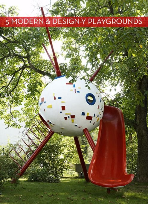 5 Fantastically Fun & Modern Playgrounds