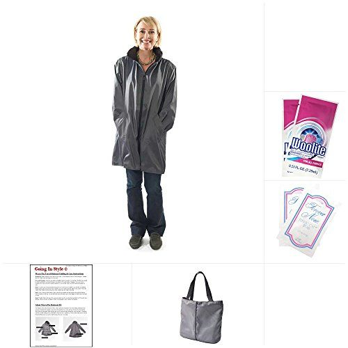 Travel raincoats by Mycra Pac are perfect for traveling under cloudy skies and uncertain schedules... These stylish raincoats are made of a lightweight micro f...