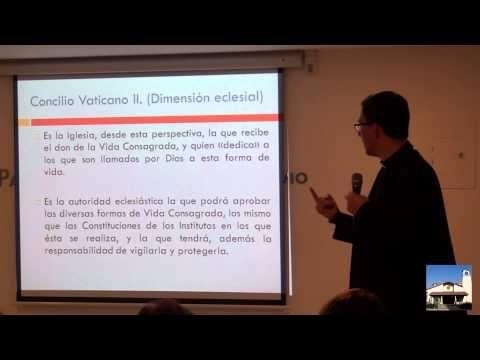 Conferencia sobre la vida consagrada - YouTube