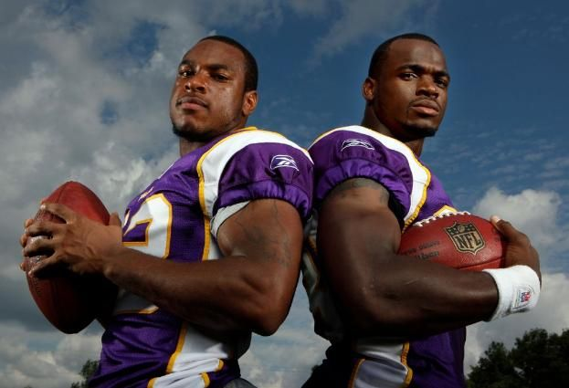 Even Adrian Peterson thinks it's a dumb idea to trade Percy Harvin. LISTEN TO YOUR GOD.