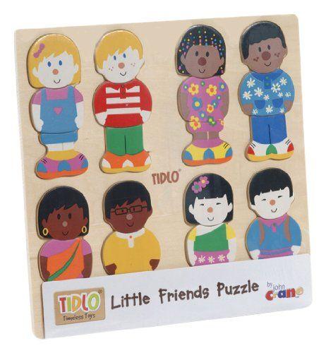 cool Tidlo Little Friends Wooden Puzzle