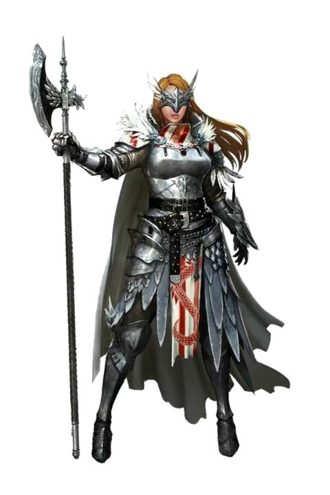 Female Human Paladin Knight - Pathfinder PFRPG DND D&D 3.5 5E 5th ed d20 fantasy (With images ...