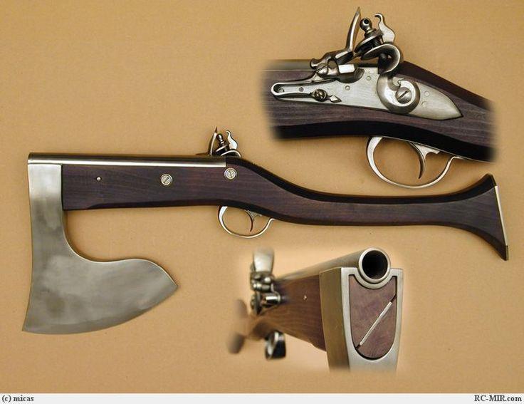 Gun/ax