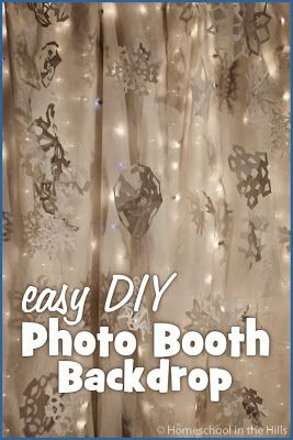 Winter Photo Booth