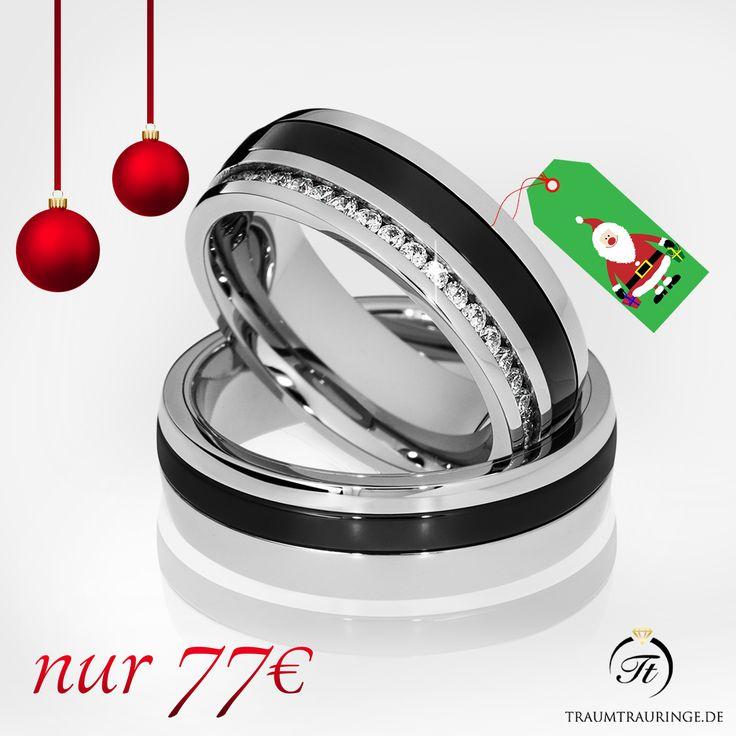 🎅 Partnerringe als Nikolausgeschenk 🎅 🔸 Machen Sie Ihre/r/m Liebst/e/n eine Freude 🔸 Bis zum 01.12.16 bestellen und spätestens bis zum Nikolaustag erhalten - nur 77€ (statt 89€) 🔸 inkl. Versand 🔸 inkl. Gravur 🔸 inkl. Ring-Etui