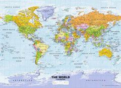 Weltkarte, politisch | Erwachsenenpuzzle | Puzzle | Produkte | Weltkarte, politisch -