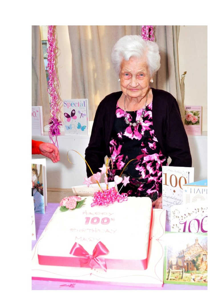 Mary Blair 100 yrs old.