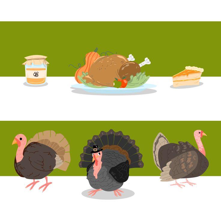 Free Thanksgiving Freebies by Freepik and Flaticon