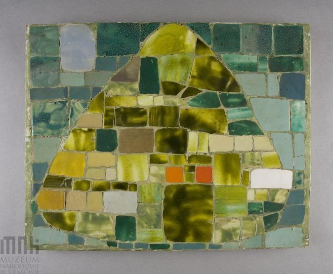 """Ewa zygulska, Mozaika """"Lato"""" , 1962, Muzeum Narodowe w Krakowie #summer, #lato, #mnk, #muzeumnarodowe, #nationalmuseum"""