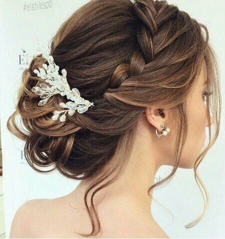 25 trending wedding up do ideas on pinterest prom hair updo when i see all these hairstyles wedding braid updo it always makes me jealous i wish i could do something like that i absolutely love this hairstyles junglespirit Choice Image