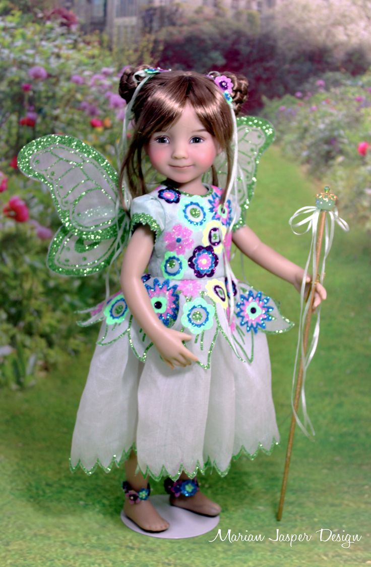 "Little Fairy for the 2017 Modern Doll Collectors Convention ""Little Darling Fashion Gala"""