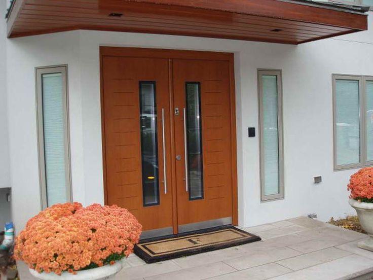 Ideas Design Modern Exterior Doors: Modern Exterior Doors Photo ... #homedecor #homedesign #entrancedoor