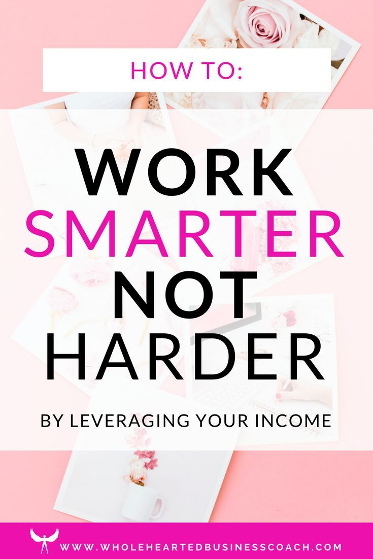 A Good Reminder To Start Off The New Year Working Smarter Our