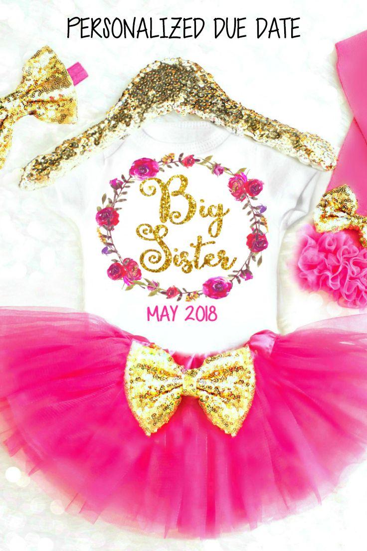 Big Sister Shirts, Big Sister Gift, Big Sister T shirt, Big Sister Little Sister Shirts. I'm Going to be a Big Sister, Promoted to Big Sister, Big Sis Shirt #bigsistershirts #bigsistergifts