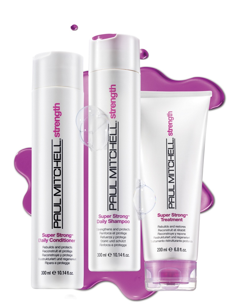 Get your strands back in shape. Paul Mitchell Strength  Strengthen hair up to 50% with Paul Mitchell® Strength, featuring our exclusive Super Strong® Complex.