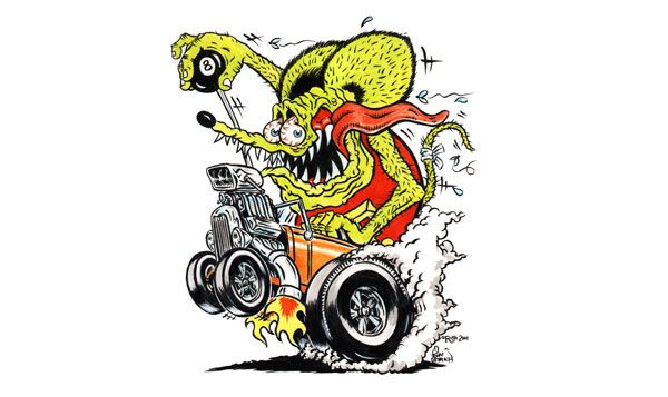 how to draw rat fink
