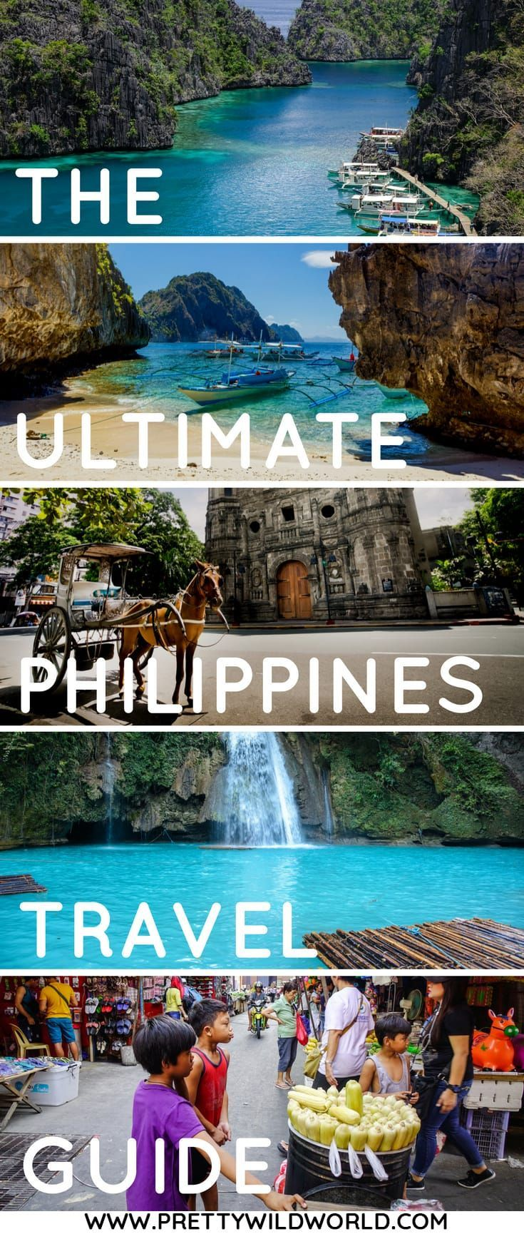 #PHILIPPINES #ASIA #TRAVEL | The Philippines Travel Guide | Things to do in the Philippines | The Philippines points of interest | What to do in the Philippines | Things to see in the Philippines | Places to visit in the Philippines via @prettywildworld