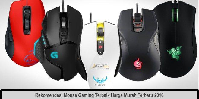 Rekomendasi Mouse Gaming Terbaik Harga Murah Terbaru 2016