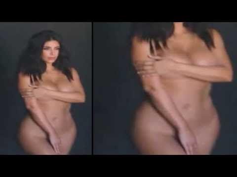 Kim #Kardashian #naked