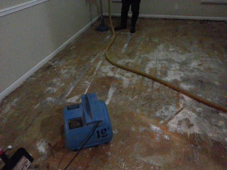 removing water damage from wood