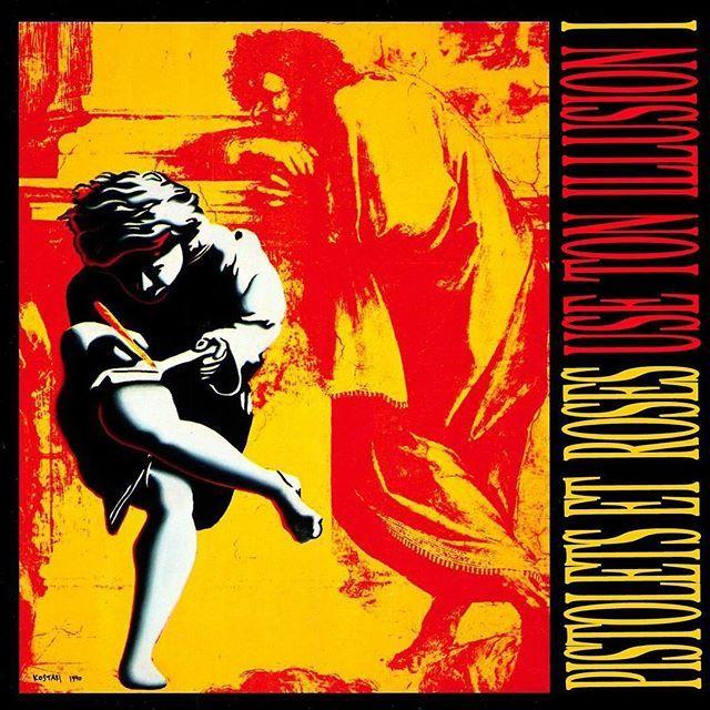 Pistolets Et Roses - Use Ton Illusion I #gunsnroses #useyourillusion #pistolet #roses #frenchify #frenchitup #stonesnroses