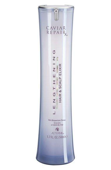 ALTERNA® 'Caviar Repair Rx' Lengthening Hair & Scalp Elixir available at…