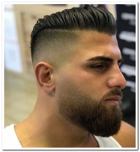 23 Best Short Hairstyles With Beards For Men 2019 00021 Short Hair With Beard Beard Styles Short Beard Hairstyle