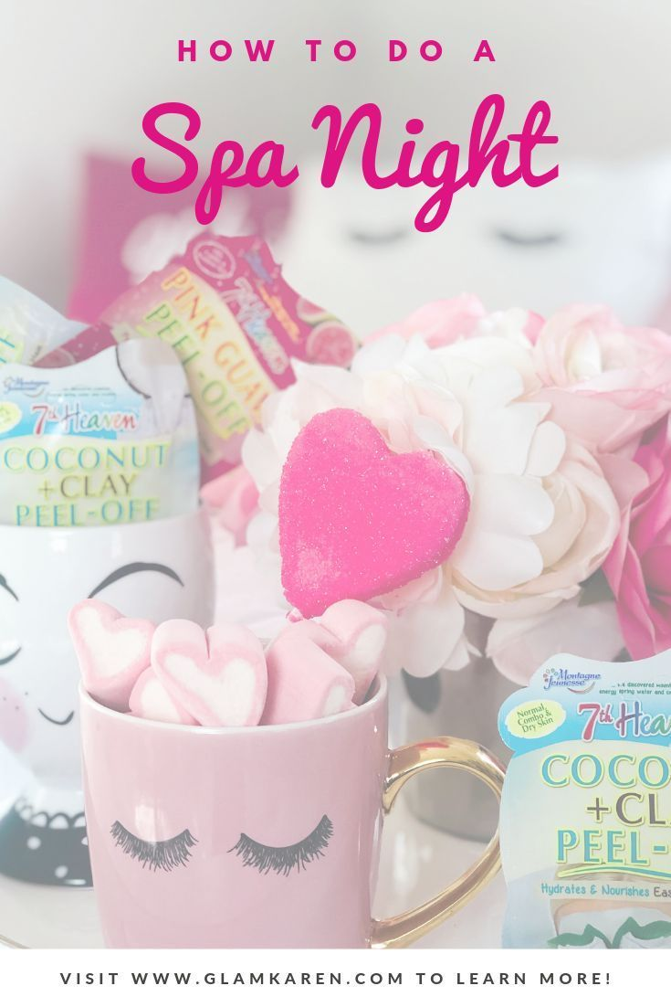 How To Treat Yourself In 2020 Spa Night Diy Face Mask For