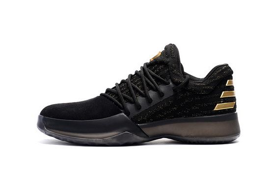 more photos 707ce 25f58 Adidas James Harden Harden Vol 1 One Primeknit Black Metallic Gold Spring  Summer 2018 Really Cheap Shoe