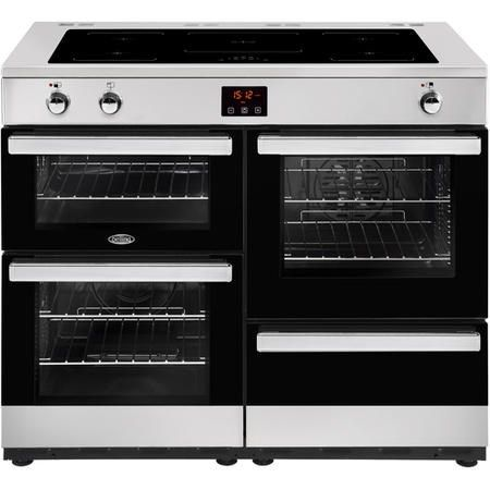 Buy Belling Cookcentre 110Ei 110cm Electric Induction Range Cooker Stainless steel 444444103 from Appliances Direct - the UK's leading online appliance specialist