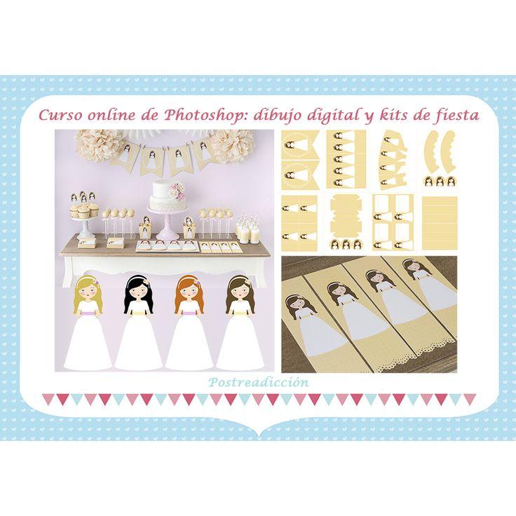 Ver producto: Curso online de dibujo y kits de fiesta con Photoshop