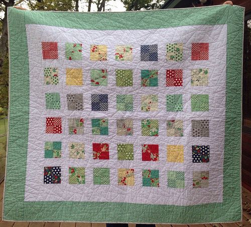 Just Four Fun Quilt (uses charm squares) | Mary on Lake Pulaski