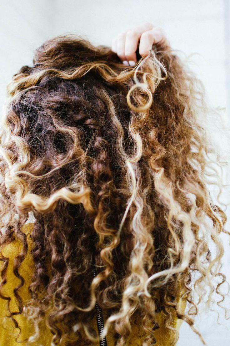 air dry hair ideas