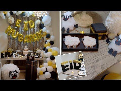 حفله عصرية للاحتفال بقدوم عيد الاضحى لاتفوتكم Celebrating In Eid Aladha Eid Mubarak For All Youtube Eid Party Eid Party