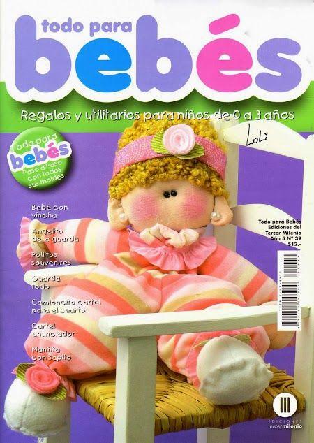 Como hacer muñecos para bebes - Revistas de manualidades Gratis