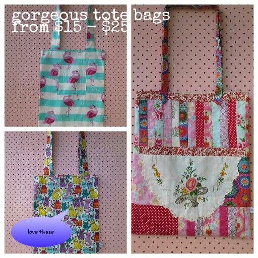 Bags from Rustybuckle marketplace