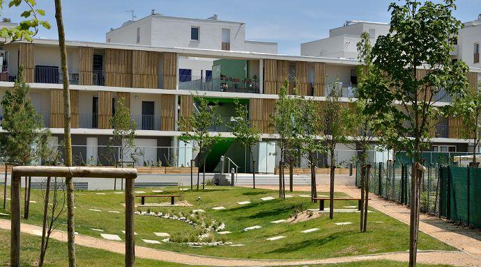 34 best images about logement neuf nos r alisations on pinterest parks villas and architecture. Black Bedroom Furniture Sets. Home Design Ideas