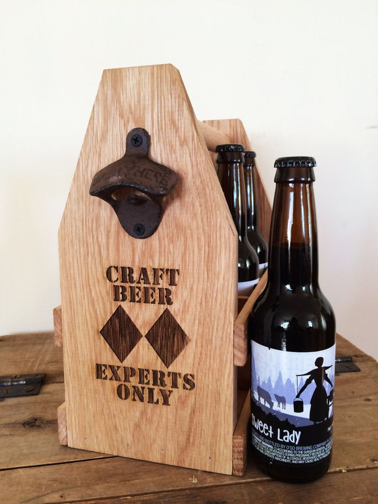 Oak Double Black Diamond Ski & Snowboard 6 Pack Beer Carrier Beverage Tote by ReImagineBrewing on Etsy