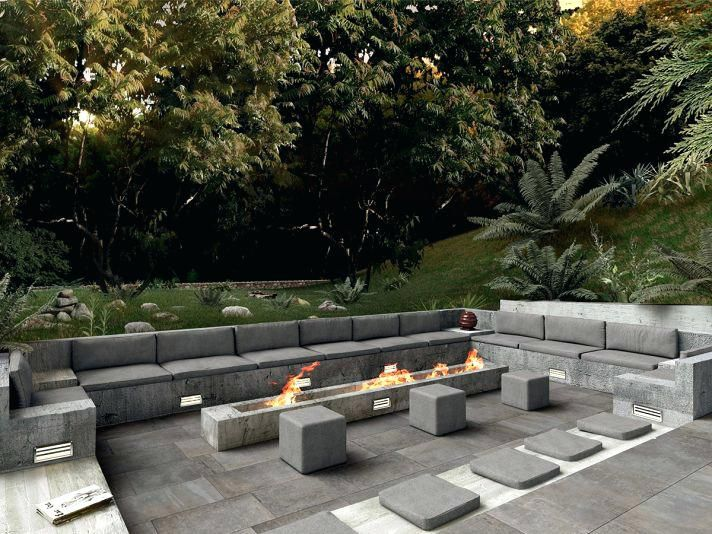 Fire Pit Seating Area Dimensions Medium Size Of Outdoor Curved