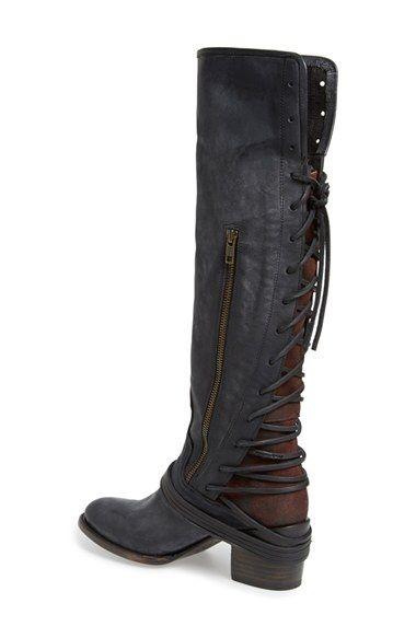 Freebird by Steven 'Coal' Tall Leather Boot (Women)   Nordstrom